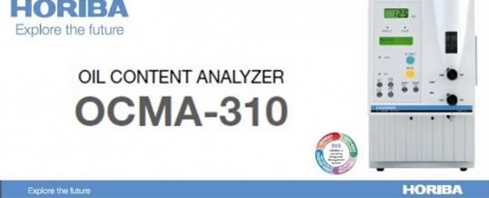 OCMA-310 analisador de teor de óleo