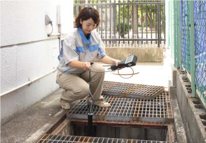 U50 Medidor multiparametro medição em cisternas e poços