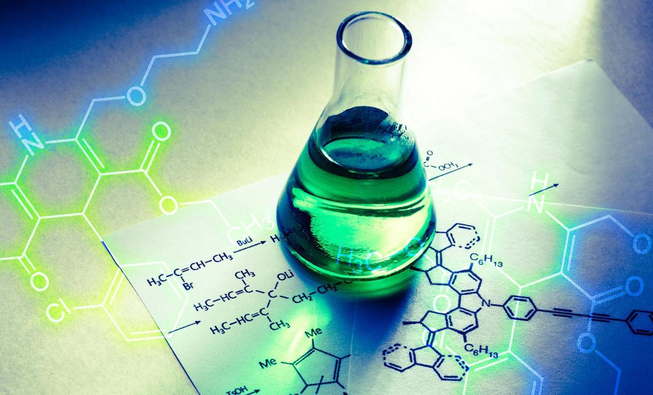 Padrão de referencia na industria química