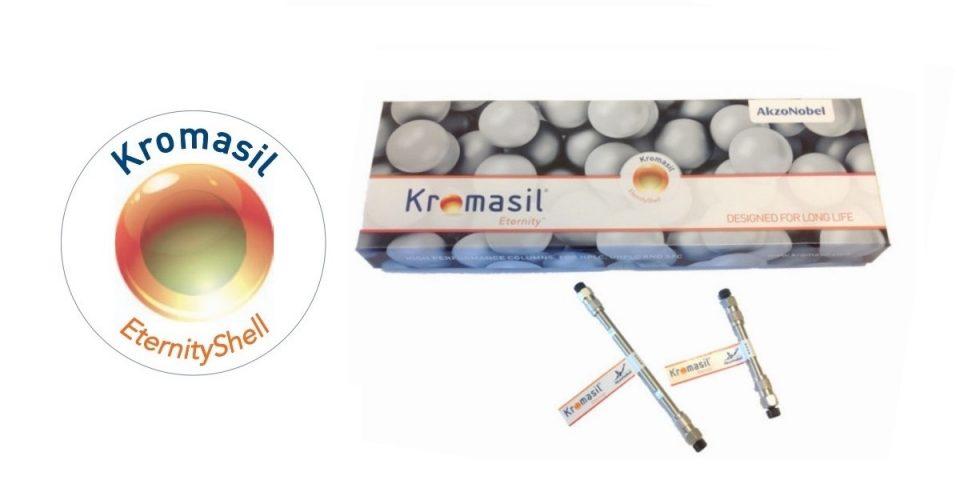 Colunas EternityShell da Kromasil primeiro na CMS Científica