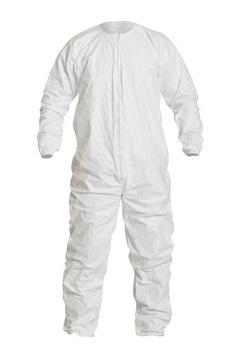 Vestimenta para Sala limpa DuPont™ Tyvek® IsoClean® IC253B-CS - FRENTE