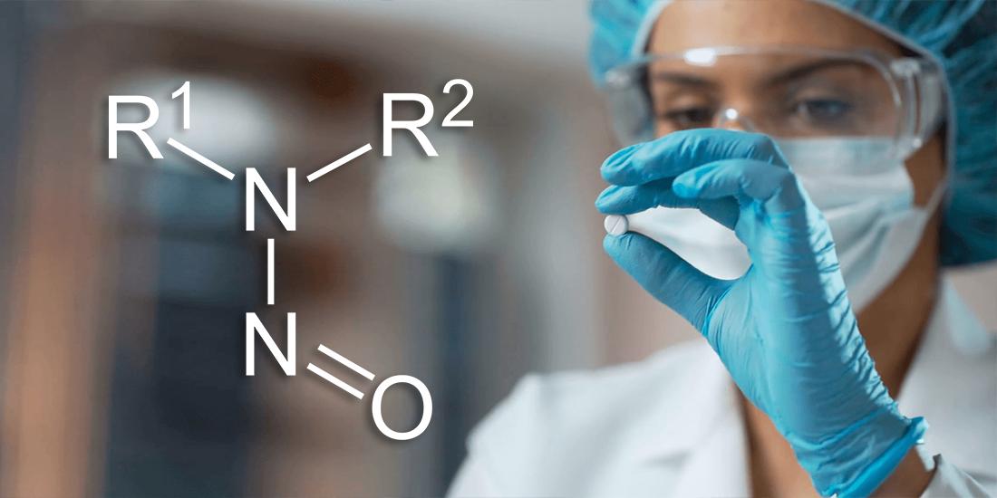 Padrão de referência para detectar a N-nitrosodimetilamina NDMA