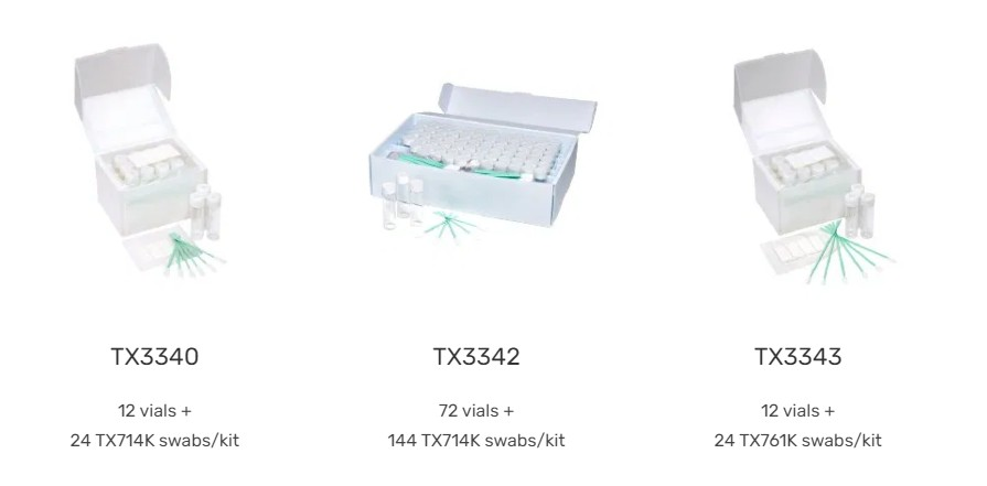 Kit Validação de Limeza Texwipe na CMS Científica