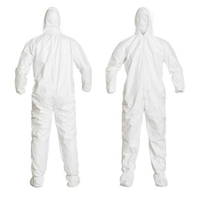 Vestimenta para Sala limpa DuPont™ Tyvek® IsoClean® IC253B-CS - medidas
